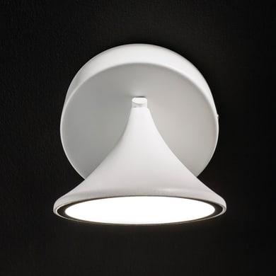 Faretto singolo Chara bianco, in metallo, LED integrato 7W 650LM IP20 WOFI