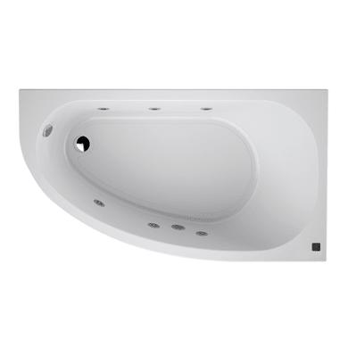 Vasca idromassaggio angolare 160 x 90 cm 6 bocchette SANYCCES