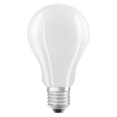 Lampadina LED filamento, E27, Goccia, Opaco, Luce naturale, 15W=2500LM (equiv 150 W), 360° , OSRAM