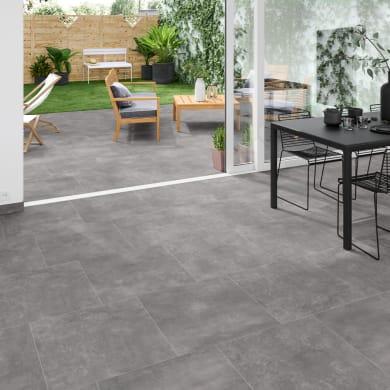 Piastrella da pavimento Newton 60 x 60 cm sp. 9.5 mm PEI 3/5 grigio
