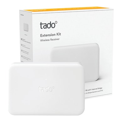 Termostato intelligente e connesso TADO tado° Kit di Estensione wireless bianco