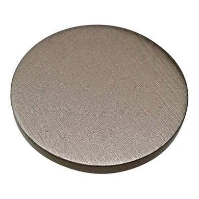 Pomolo in ottone grigio / argento