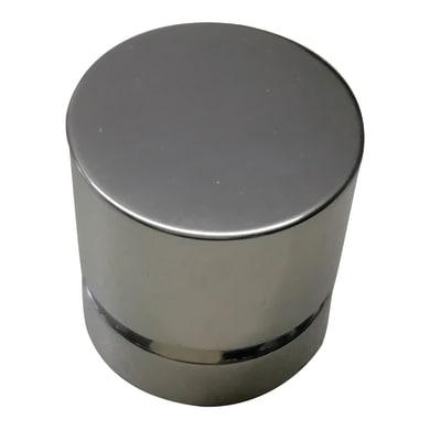 Pomolo in zama grigio / argento