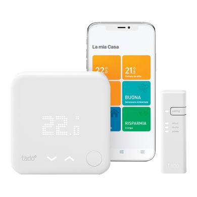 Termostato intelligente e connesso TADO INT 101 Starter Kit bianco