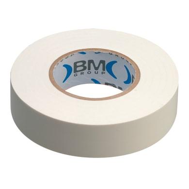 Nastro isolante BM 15 x 25000 mm x sp 0,15 mm bianco