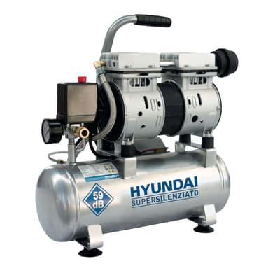 Compressore silenziato HYUNDAI 1 hp 8 bar 6 L