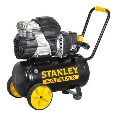 Compressore silenziato STANLEY FATMAX 1.5 hp 8 bar 24 L