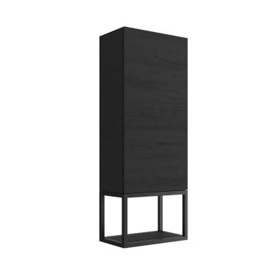 Colonna 1 L 48.5 x P 24 x H 11.5 cm nero legno ed effetto legno SENSEA