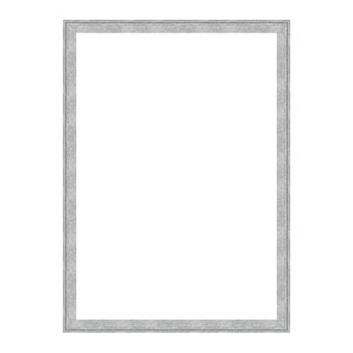 Cornice Betty argento per foto da 70x100 cm