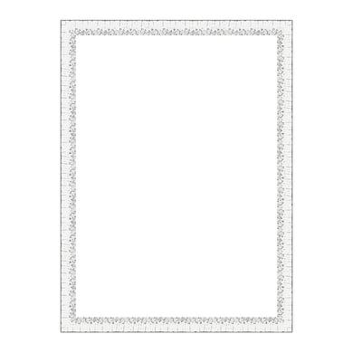 Cornice Dalia bianco per foto da 50x70 cm