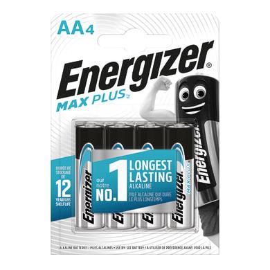 Pila LR6 AA ENERGIZER Max Plus 4 batterie