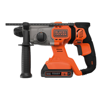 Martello combinato a batteria BLACK+DECKER BD900E2K-QW , 18 V , 1.2 J 2.5 Ah, 2 batterie