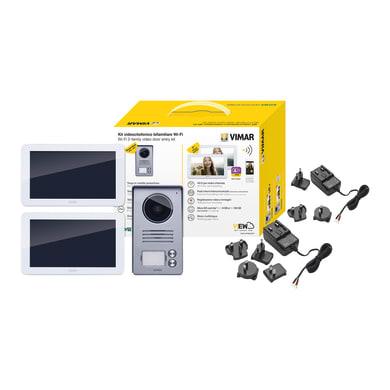 Videocitofono wireless bifamiliare  ELVOX VIMAR K40946 2 fili