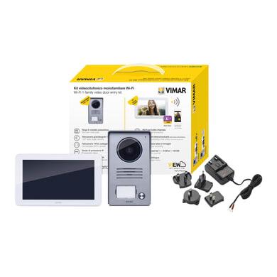 Videocitofono wireless a parete ELVOX VIMAR K40945