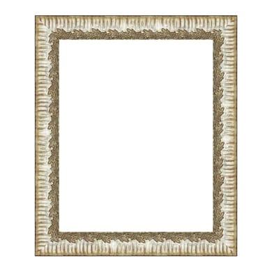 Cornice Dalia argento per foto da 24x30 cm