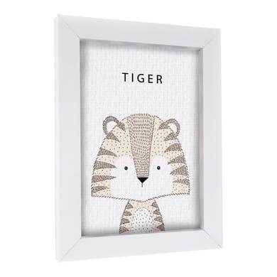 Quadro con cornice Tiger 30x40 cm