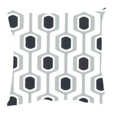 Fodera per cuscino POP grigio/nero 60x60 cm