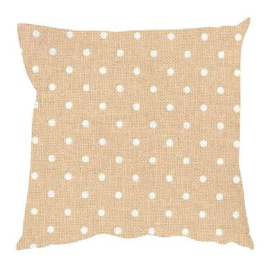 Fodera per cuscino POIS beige 60x60 cm