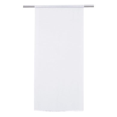 Tendina vetro Carla bianco tunnel 60 x 110 cm