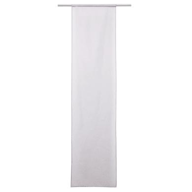 Tendina vetro Carla grigio granito tunnel 60 x 240 cm