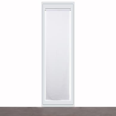 Tendina vetro Carla bianco tunnel 60 x 240 cm