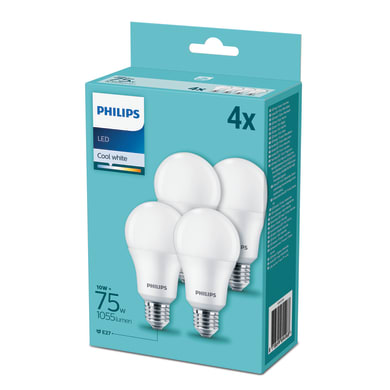 Lampadina Smart lighting LED bianco freddo E27 10W = 1055LM (equiv 75W) 200° PHILIPS