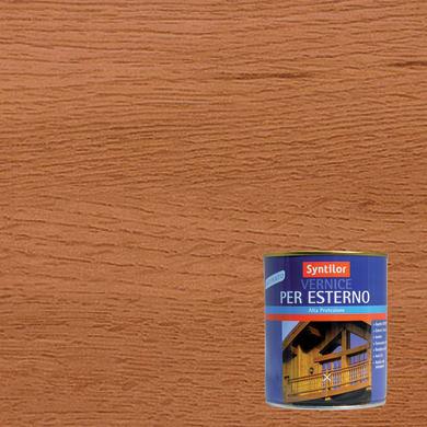 Vernice per legno da esterno liquido SYNTILOR 0.25 L teak satinato