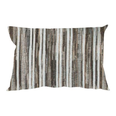 Fodera per cuscino RAYA marrone 50x30 cm