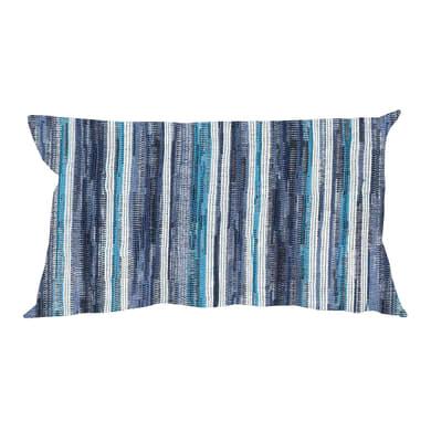 Fodera per cuscino RAYA blu 50x30 cm