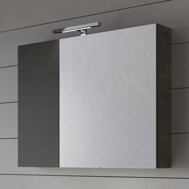 Specchio con cornice bagno quadrata L 70 x H 70 cm