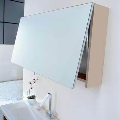 Specchio con cornice bagno rettangolare Eklettica L 105 x H 50 cm
