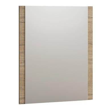 Specchio non luminoso bagno rettangolare Rimini L 70 x H 85 cm