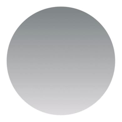 Specchio non luminoso bagno rotondo Semplice Ø 60 cm SENSEA