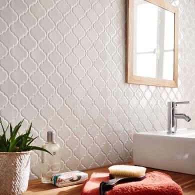 Mosaico Antik Lantern  White H 34 x L 34 cm bianco