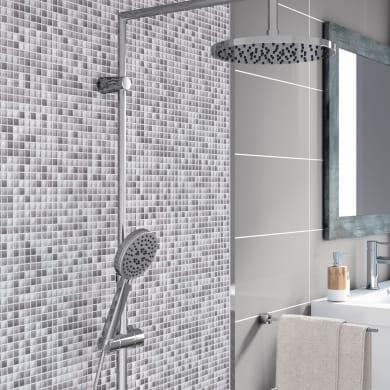Mosaico Tonic Silver H 30 x L 30 cm grigio