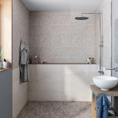 Mosaico Mineral Cottage H 30 x L 30 cm grigio