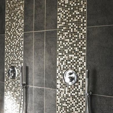 Mosaico Fusion Lods H 30 x L 30 cm grigio