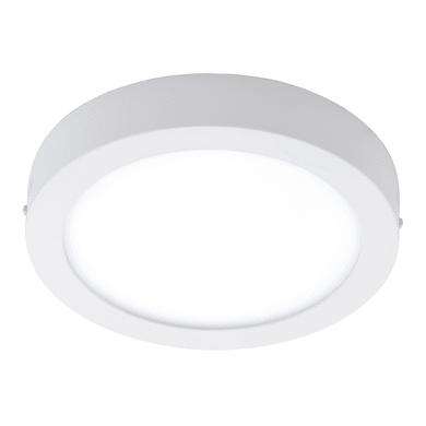 Plafoniera Argolis LED integrato in alluminio, bianco, 16.5W 1600LM IP44 EGLO