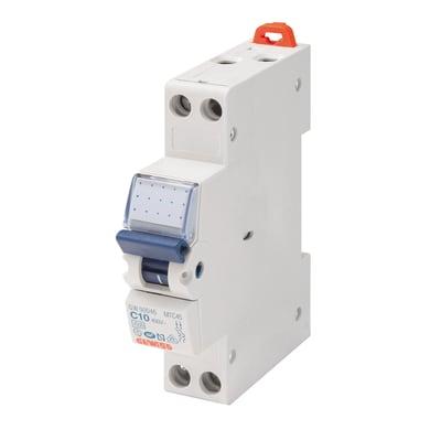 Interruttore magnetotermico GEWISS GW90230 1P +N 32A 6kA C 1 modulo 230V