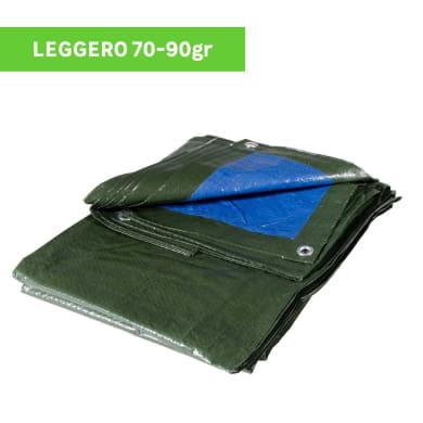 Telo protettivo in polietilene L 4 m x H 500 cm 70 g/m²