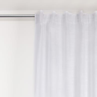 Tenda Infini Slide bianco fettuccia 140 x 280 cm
