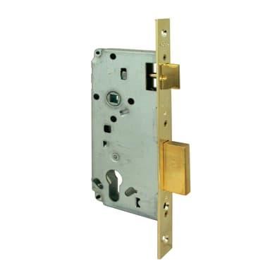 Serratura a incasso cilindro per portoncino d'ingresso, entrata 4.5 cm, interasse 85 mm sinistra e destra
