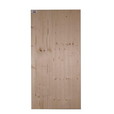 Tavola legno lamellare abete 120 x 40 cm Sp 18 mm