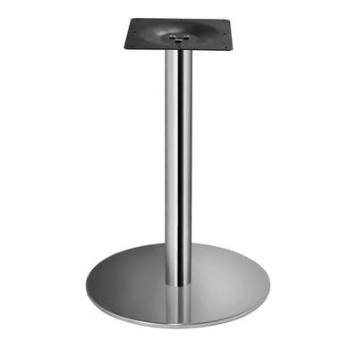 Base per tavolo in inox grigio L 50 cm