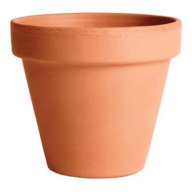 Vaso in terracotta colore cotto Ø 15 cm
