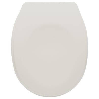 Copriwater ovale Universale Sparta SENSEA plastica termoindurente bianco