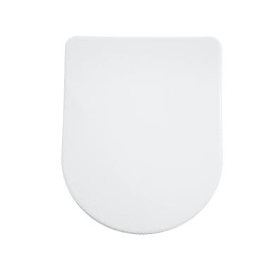 Copriwater rettangolare Universale Remix SENSEA duroplast bianco