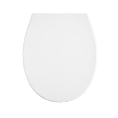 Copriwater ovale Universale Remix Oval SENSEA plastica termoindurente bianco
