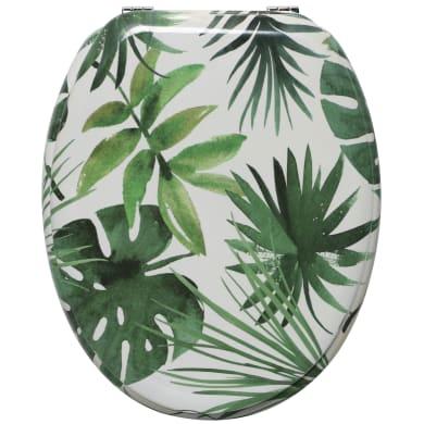 Copriwater ovale Universale Foliage SENSEA mdf fantasia