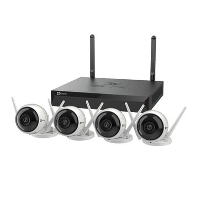 Kit di videosorveglianza EZVIZ NVR 4 canali